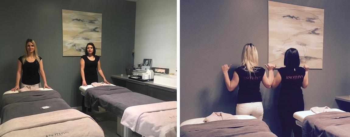 Salle Soins Massage Duo